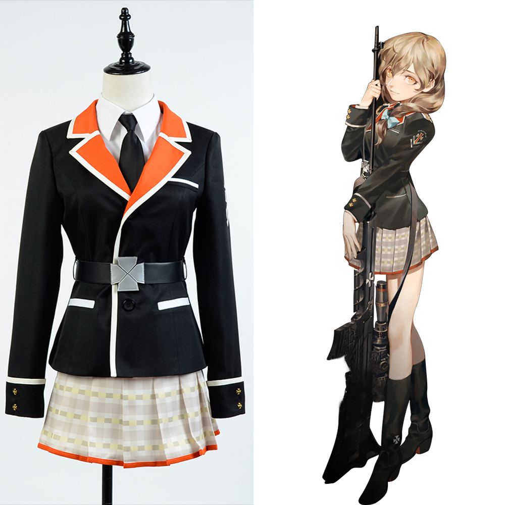 Song Of Time Project Gloria Vella Uniform Cosplay Costume For Women Full Set Costume