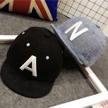 680ff8f559b Baby Boy Hat Letter Kids Baseball Cap Cotton Adjustable Sun Hats Girls  Peaked Caps Summer Winter