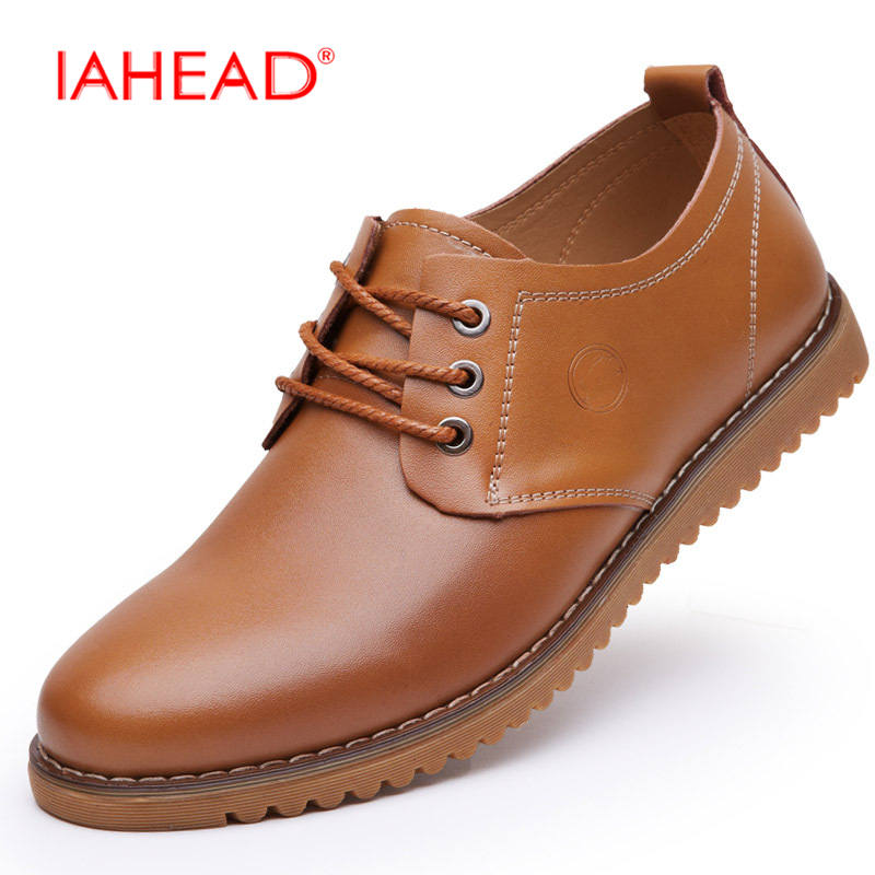 Фотография Men Shoes Men Leather Casual Shoes 2017 Winter Warm Shoes Plus Size 38-46 Work Outdoor Soft Comfortable Loafers Shoes MQ592