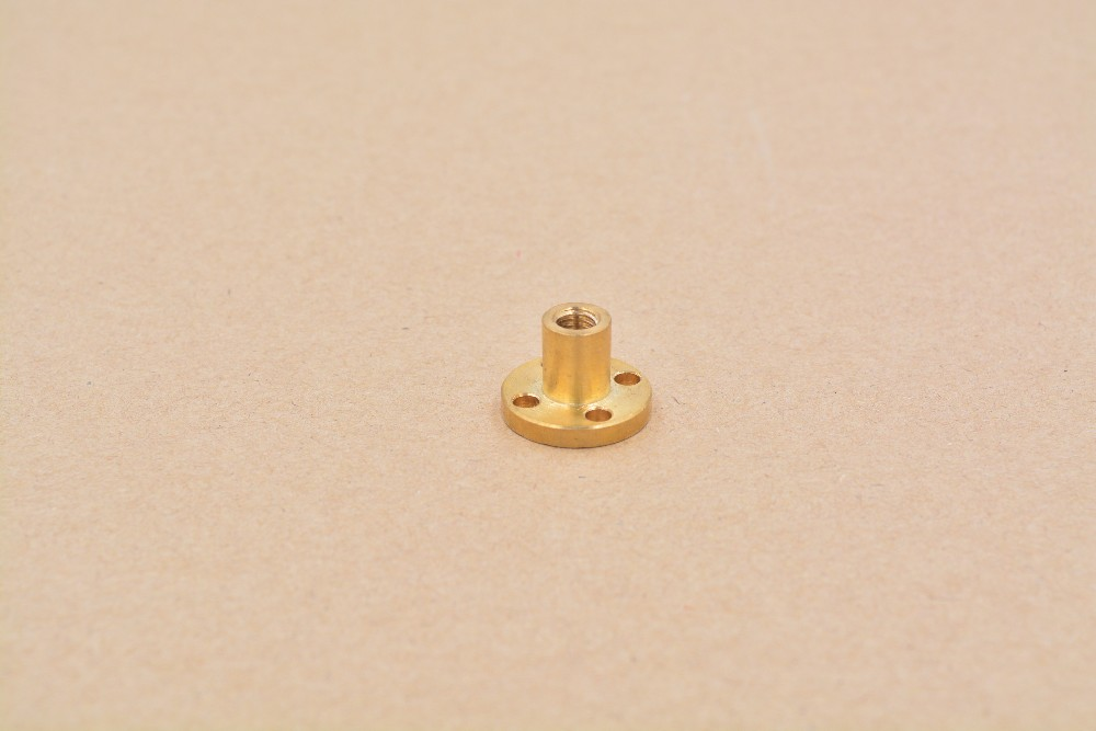 все цены на T6 nut trapezoidal screw nut brass copper nut lead 1mm 2mm 4mm 6mm 12mm 1pcs онлайн
