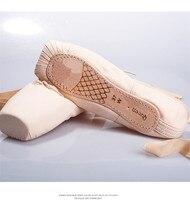 Frete Grátis Básico Infanta e Princesa da Mulher Da Lona Sapatos De Dança Ballet Pointe Sapatos de Dança