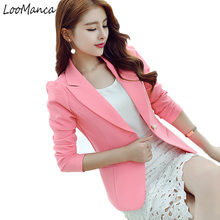 Small Suit Female Newest Spring And Autumn Women Blazer Women Coat Work Wear Korean Slim Thin Suit Jacket Female Coat Outewear