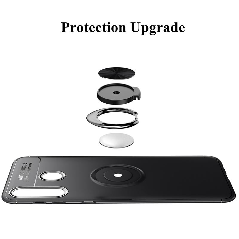 Image 3 - Magnet Ring Case For Samsung Note 10 A10 A30 A20 A50 A70 Shockproof Cover On Samsung j3 j5 j7 pro 2017 s10 lite plus Note10 pro-in Fitted Cases from Cellphones & Telecommunications