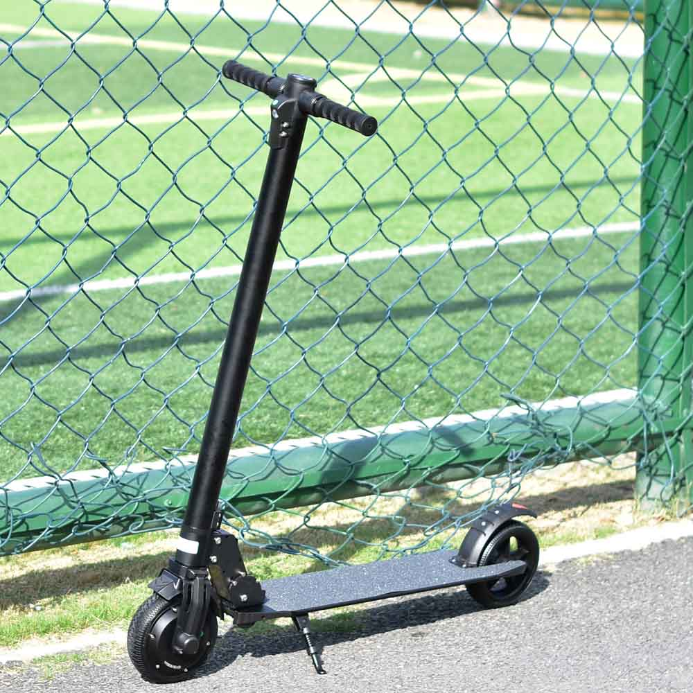 EABS energy recovery electric scooter lights longboard kick scooter personal transporter