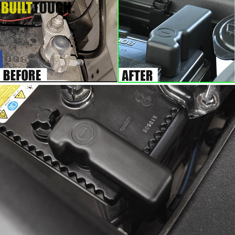 Toyota Battery Terminal: Car Battery Anode Negative Terminal Protection Cover For