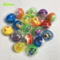 wholesale 65mm 50PCS Novelty Mini Surprise Egg Surprise Ball Creative Toys Gashapon Kids Toy Gadget Children Surprise