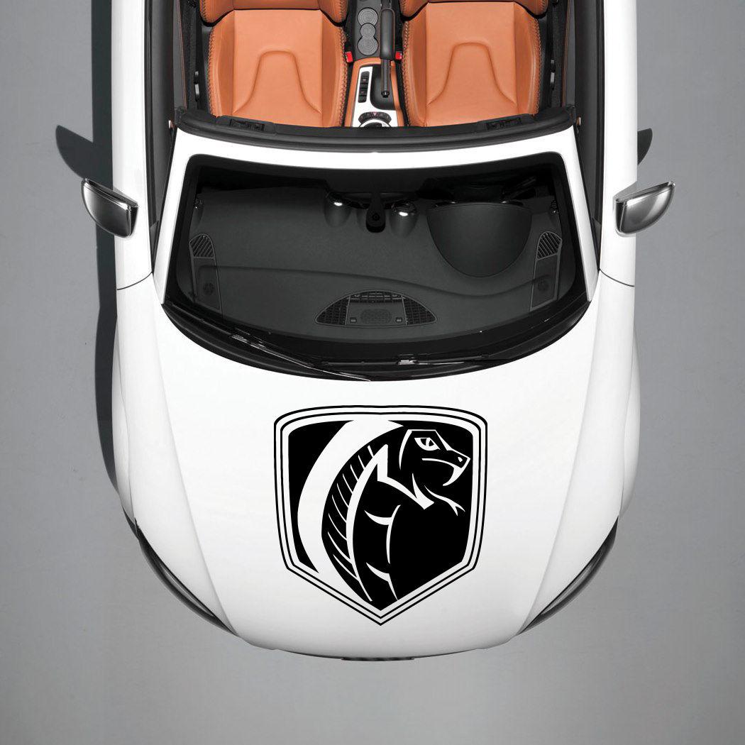 Design car emblem - Car Hood Vinyl Sticker Decals Graphics Design Logo Emblem Cobra Snake Sv4727