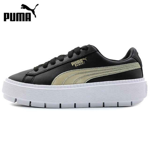 Original Nueva 2018 Plataforma Puma De Skate Rastro Llegada Varsity nOkN8PX0w
