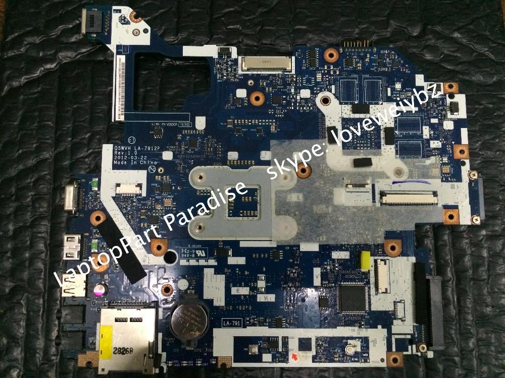 Laptop motherboard for NBY1111001 ACER Aspire V3-571 V3-571G motherboard LA-7912P Intel DDR3 3