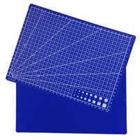 Tapetes de corte de cuadrícula A4 de doble cara placa de corte de autocuración de cartón de PVC Manual DIY almohadilla de corte de Patchwork 30*22cm
