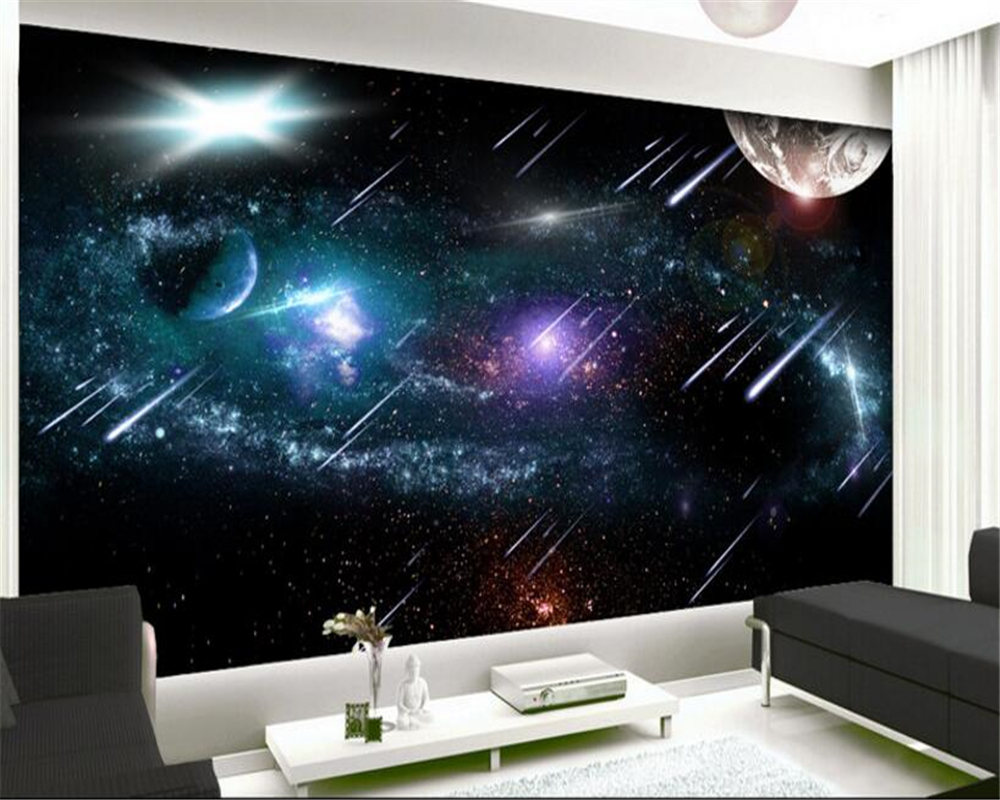 Beibehang Tapety Advanced Personality Wallpaper Meteor
