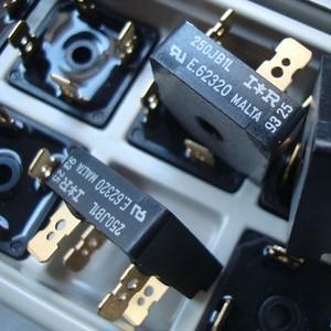 Image 3 - 2 pezzo di 250JB1L 25A 100V diodo raddrizzatore a Ponte audio placcato Oro 4 pin