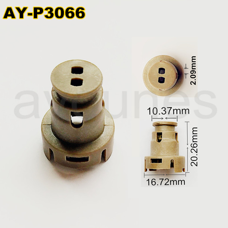 Excellent wholesale fuel injector pintle cap plastic parts for injector repair kit 23250 62040 fit for