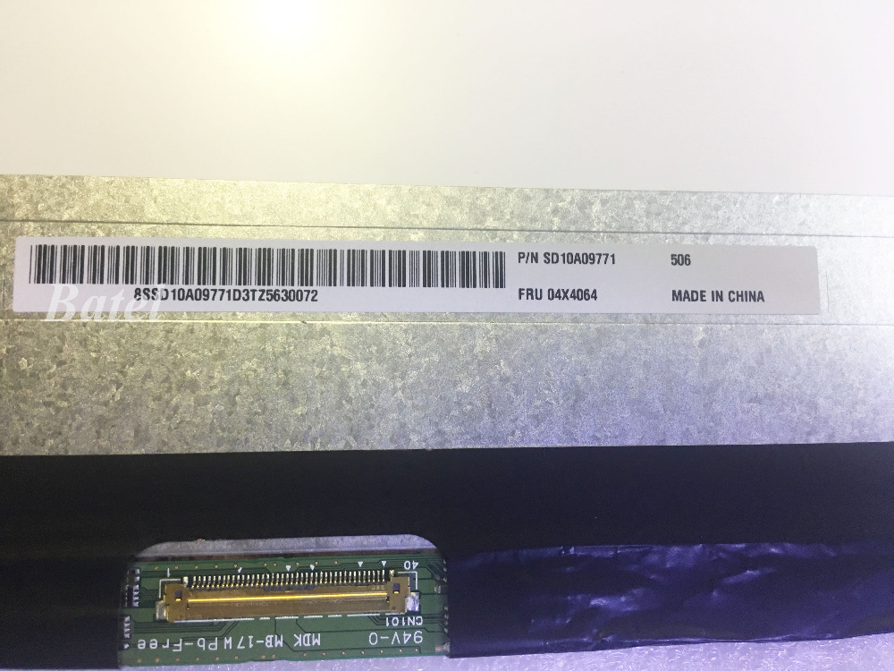 40 Pins Matte Matrix For Panasonic FRU:04X4064 4X4064 LCD Display for laptop 15.5 2880X1620 Replacement40 Pins Matte Matrix For Panasonic FRU:04X4064 4X4064 LCD Display for laptop 15.5 2880X1620 Replacement