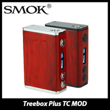 Original 220 w mod smok treebox plus tc con chip inteligente powered by 2×18650 sin batería electrónica control de temperatura cig mod
