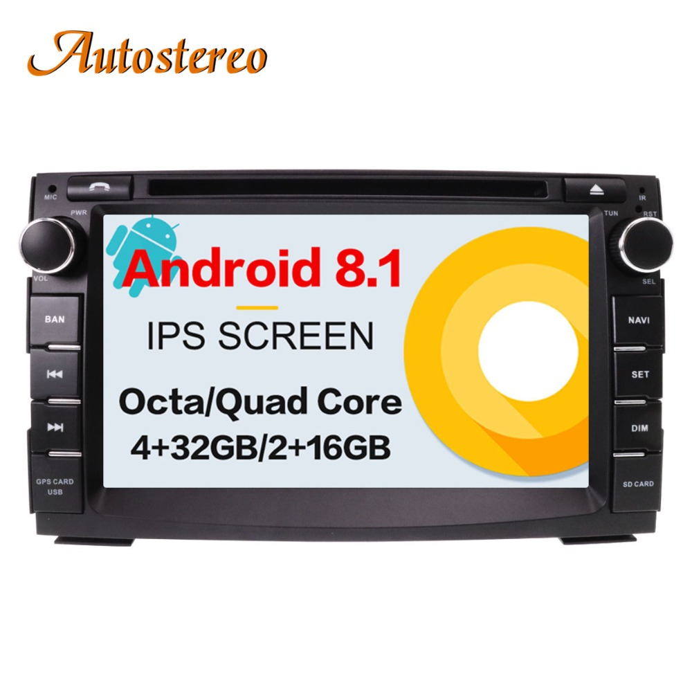 Android 8.1 Car DVD Player GPS navigation For KIA Ceed/Venga autostereo radio tape recorder head unit multimedia player Satnav