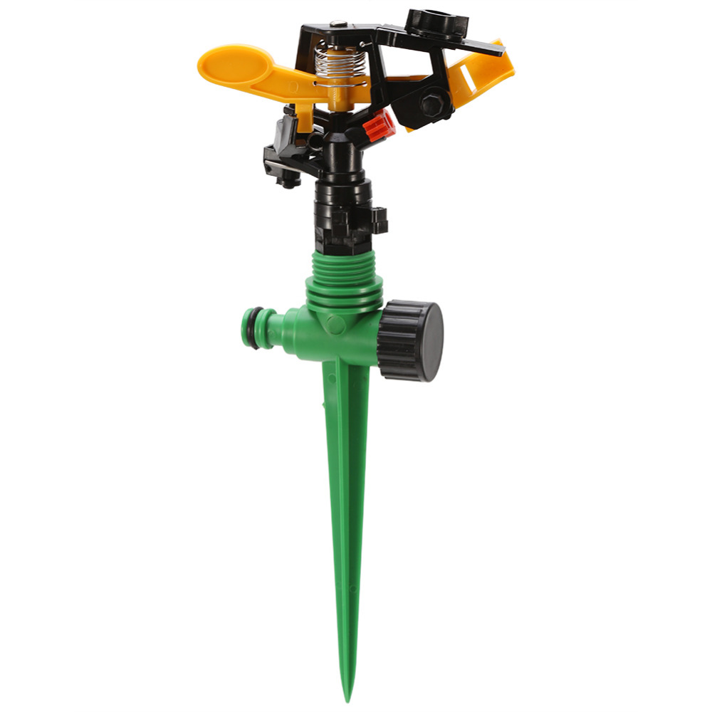 Garden Sprinkler Spike Garden-Irrigation-System Water-Sprayer Rotating Adjustable Lawn-Grass