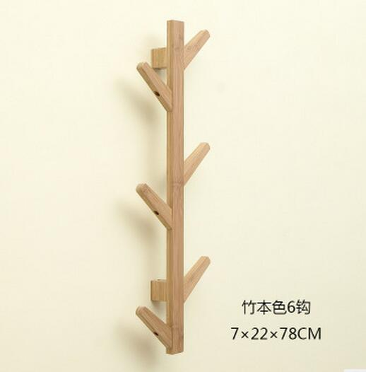 Six hook clothes tree hallstand hatstand hat rack coatrack вешалка coatrack 20х70х28