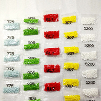 Diamond Painting Accessory Wholesale Square Or Round Rhinestone Resin Diamonds 1KG Bag 447 Colors Can