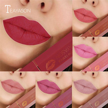 Velvet Lips Makeup Matte Lipstick Long Lasting Waterproof Lip Tint Nude Make Up Mate Lipsticks Red Cosmetics Lipstick for Beauty o two o matte lipstick velvet 12 colors waterproof long lasting lipsticks lip pigment makeup smooth lips make up rouge a levre