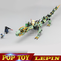 Lepin 06051 Ninjagoes 592pcs Movie Series Flying Mecha Dragon Building Blocks Bricks Baby Toys Children Gift