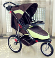 In stock! Europe big  baby stroller  3 wheels big baby stroller export quality light baby pram big wheels send gifts