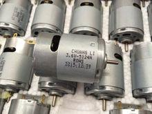 3.6 В 12000 об./мин. RS-380PH миниатюрный электрический инструмент DC двигатель с постоянным магнитом/вентилятор/электрический/DIY Аксессуары двигателя