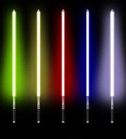 Sword Lightsaber Metal Hilt Stick luminous Lightsaber Toy Light Saber Force FX Heavy Dueling Rechargeable Color Changing Sound