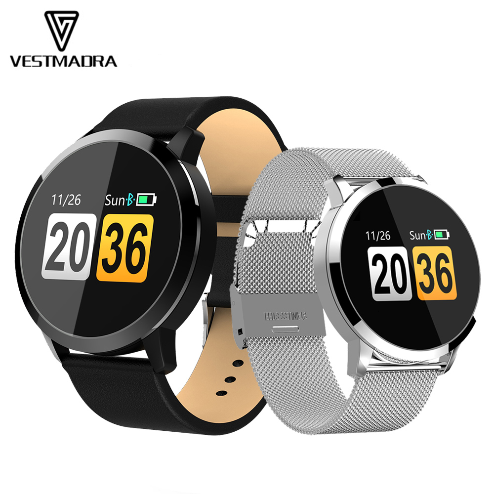 VESTMADRA Q8 OLED Color Screen Smart Watch Fashion Electronic
