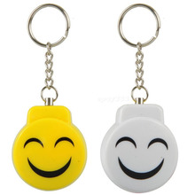 Smile Face Personal Panic Alarm Anti-Rape Anti-Attack Safety self-defense Electronic Alarm