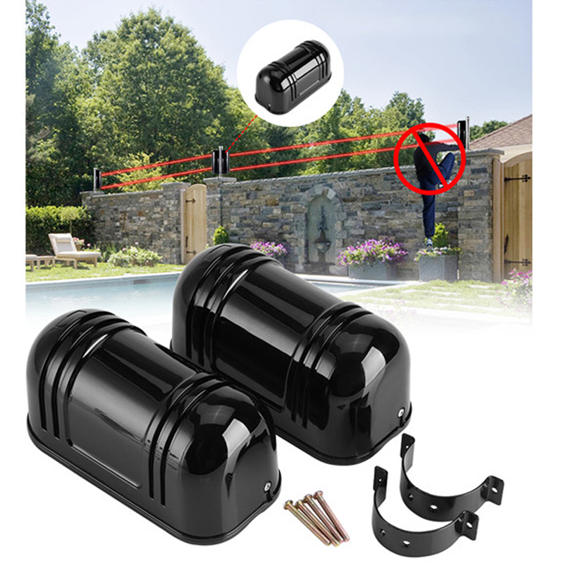 150m Sensor Alarm Dual Beam Photoelectric Infrared Detector For Home Security Support Connected To The Alarm