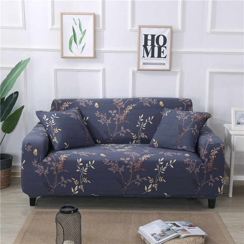 High Grade Sofa Cover Full Stretch Universal Towel Printing Polyester Leather