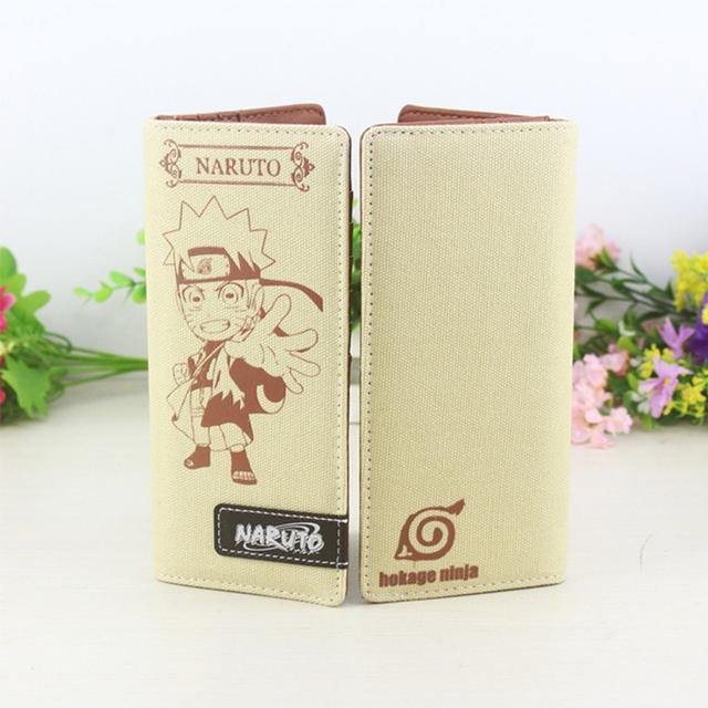 Naruto Chibi Wallet Canvas