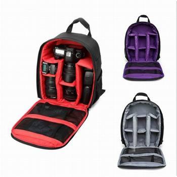 Multi-functional Camera Backpack Video Digital DSLR Bag Waterproof Outdoor Camera Photo Bag Case For Nikon For Canon/DSLR Camera/Video Bags