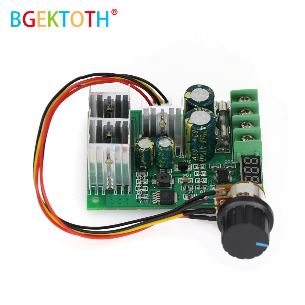 Instrument Parts & Accessories Dc6-60v 30a Digital Led Display 0~100% Adjustable Drive Module Pwm Dc Motor Speed Controller Regulator Dimmer Current Control Cheapest Price From Our Site