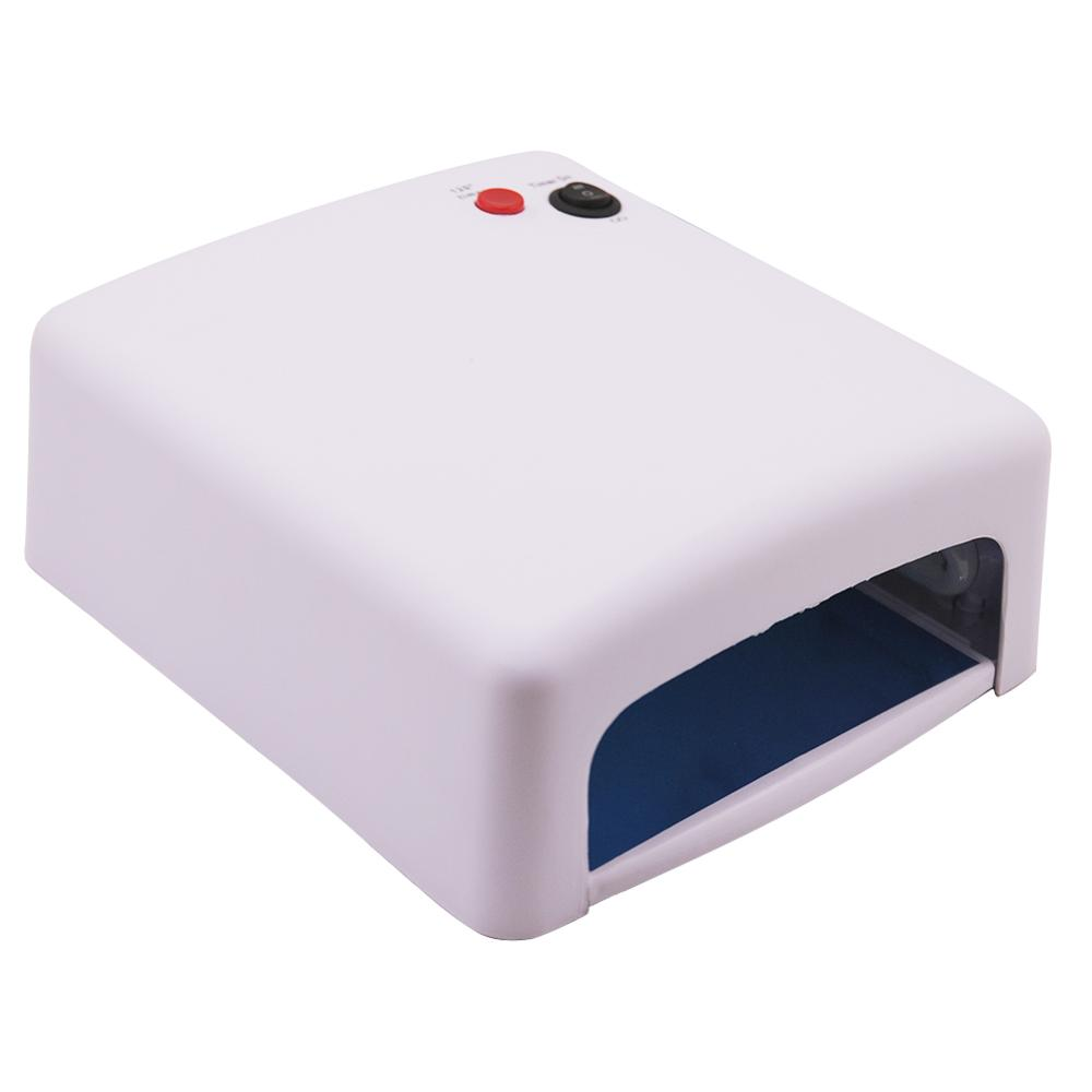36W UV Lamp Nail Dryer Nail Art Lamp For Nails Drying UV Manicure For Machine Gel Nails Equipment Lamp For Gel Art Tools in Nail Dryers from Beauty Health