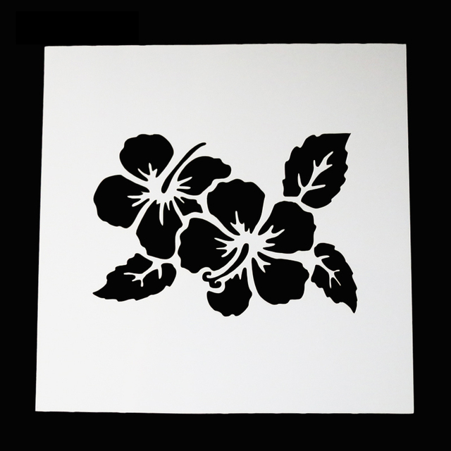 Kuchen Schablone Dekorative Blumen Kuchen schablone Kuchenform ...
