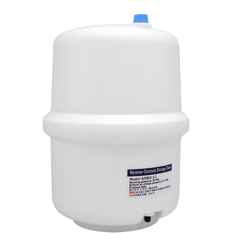 Coronwater RO Tank 3 Gallon Plastic Storage Tank For Reverse Osmosis System
