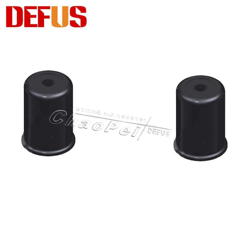 販売50ピースブランドdefus 13.8*2*10.5ミリメートルプラスチックo-リングインジェクターキャップ自動車部品用ユニバーサル車修理キットDF-31027