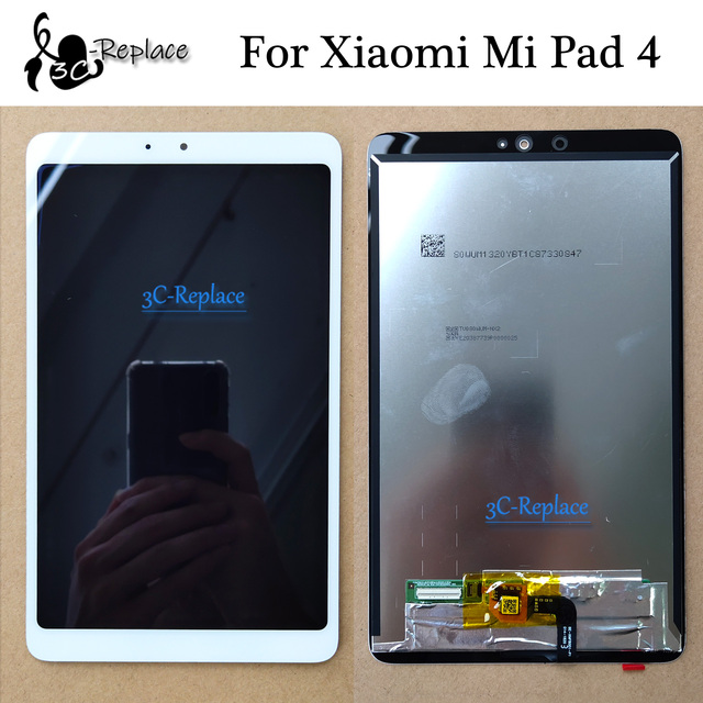Nero/Bianco/Oro Per xiaomi mi pad 4 mi pad 4 schermo lcd DISPLAY + touch Panel digitizer Di ricambio Per xiaomi mi pad 4 LCD