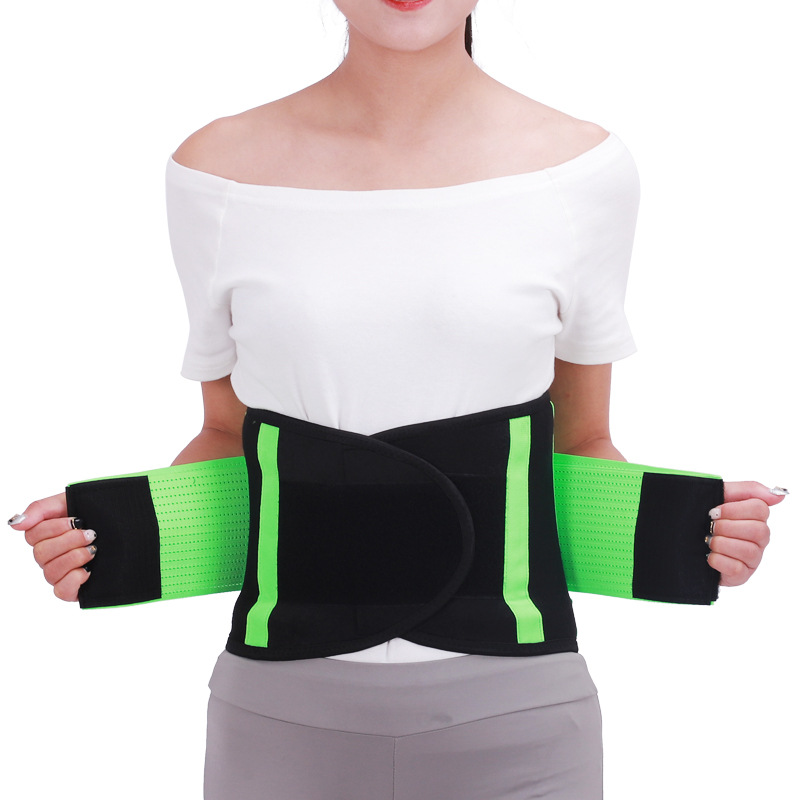 Neoprene Waist Support Sweat Belt Waist Trimmer Posture Corrector Sport Accessories Weight Weightlifting Loss Springs Belt