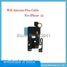 MXHOBIC 50pcs/lot Wifi Signal Antenna flex cable Assembly For iPhone 5S Replacement Repair Part Wholesale free shipping