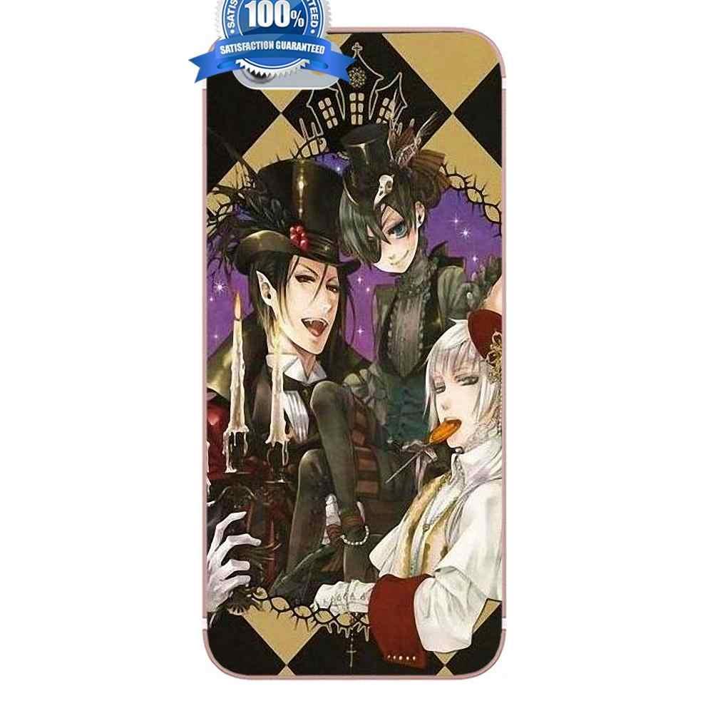 Мягкий чехол для телефона Аниме Черный дворецкий куросицудзи для Xiao mi Red mi 5 4A 3 3 S Pro mi 4 mi 4i mi 5 mi 5s mi Max Mix 2 Note 3 4 Plus
