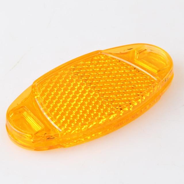 Online Shop 2 Pcs Orange Bicycle Spoke Reflector Bike Warning