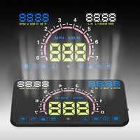 Onever Auto HUD 5,5 ''Head Up Display Auto Geschwindigkeit Projektor OBD2 II EUOBD Überdrehzahl Warnung Windschutzscheibe Projektor Alarm System