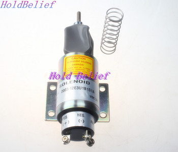 New Fuel Shut Off Solenoid Valve 2003-12E3U1B1S1A Replace for 12V