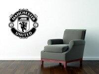 Fashion Football Club Badge Team Logo Removable Vinyl Wall Sticker Wall Art Poster Football Decal Art
