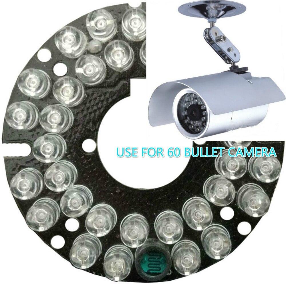 IR LED Light Board 36 LED 5mm 850nm Infrared Light Board IR Led Camera Board For HD CMOS 800TVL BULLET CCTV Camera