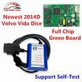 Super Vida Dice Pro+ For Volvo Vida Dice Full Chip OBD2 Diagnostic Tool For Volvo Dice Pro 2014D With Fimware Update&Self-Test