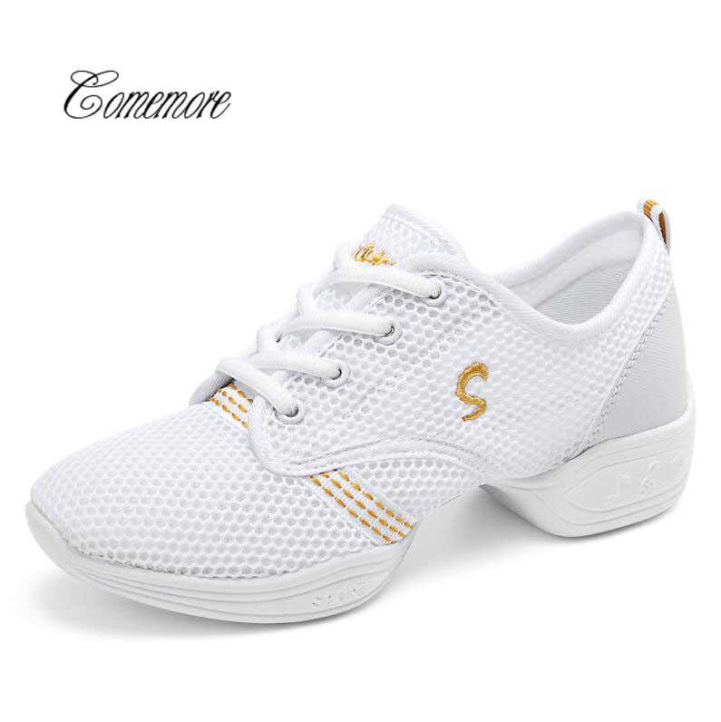 Comemore New Kids Jazz Slip on Dance Sneakers Women Sport Shoes Ladies Dancing Shoes Woman Dance Shoes For Children Boys Girls